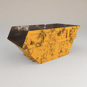 skip yellow 3d model