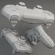 Malha base PlayStation 4 Dualshock 3d model