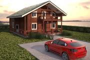 タウンハウス 3d model