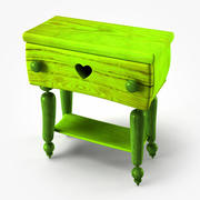 Doll Night Stand 3d model