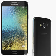 Samsung Galaxy E7 Black 3d model