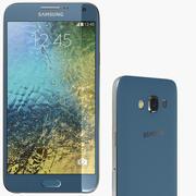 Samsung Galaxy E7 Blue 3d model