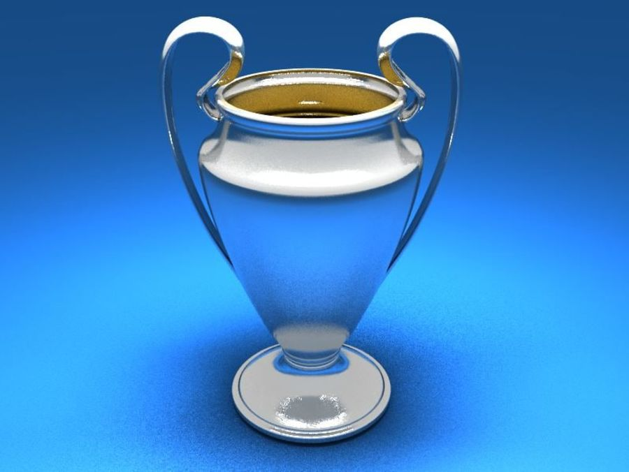 Soccer Trophy royalty-free 3d model - Preview no. 1