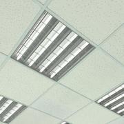 Sufit biurowy (kafelki) 3d model