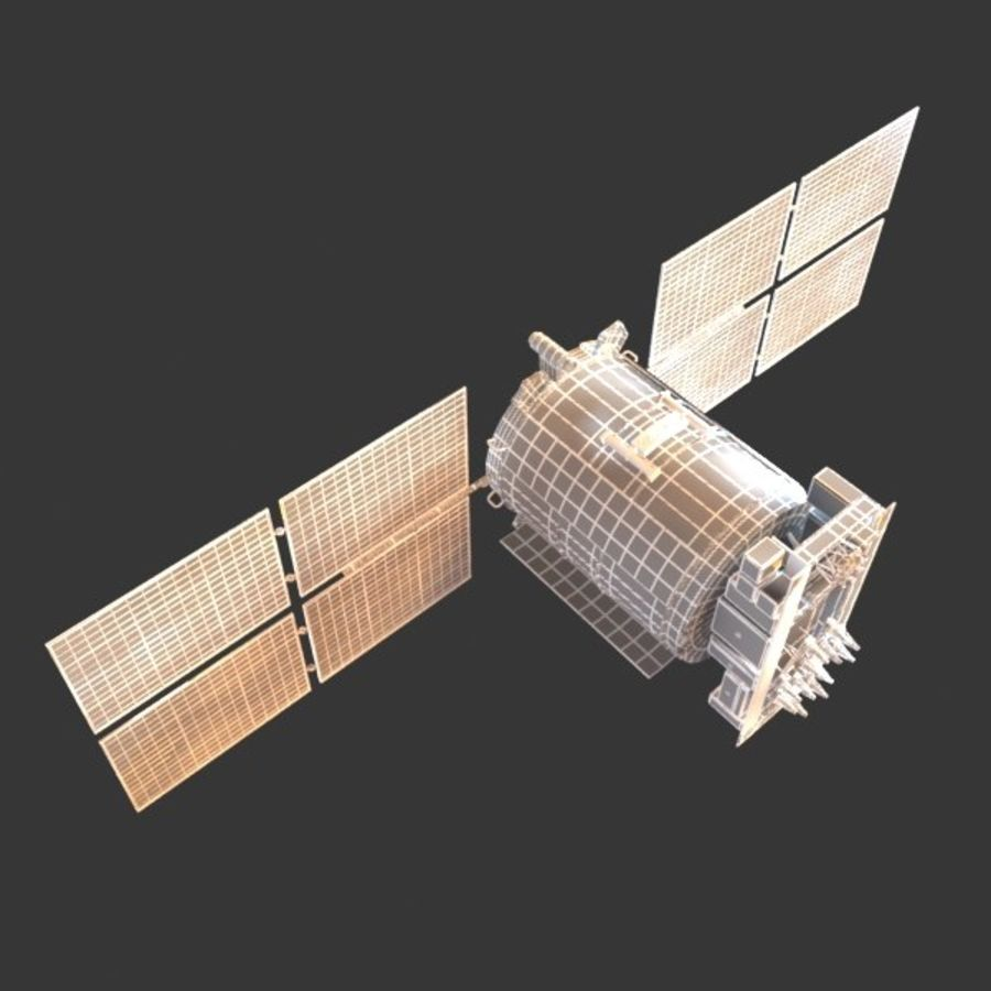 Satellite Glonass royalty-free 3d model - Preview no. 12