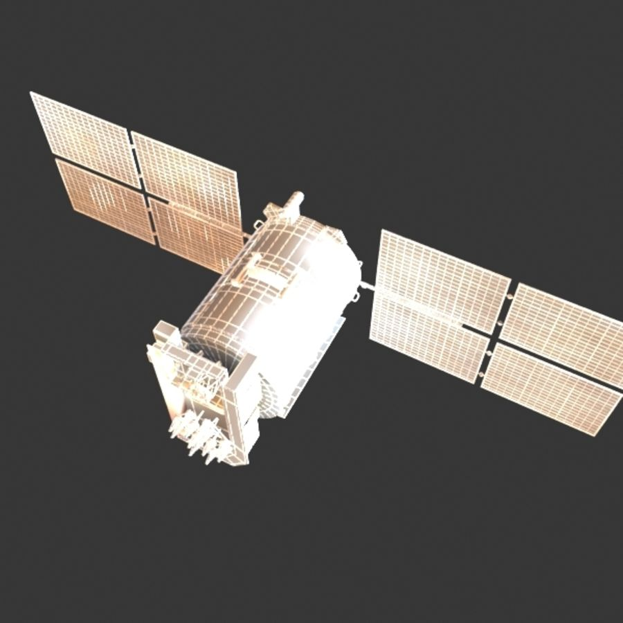Satellite Glonass royalty-free 3d model - Preview no. 11