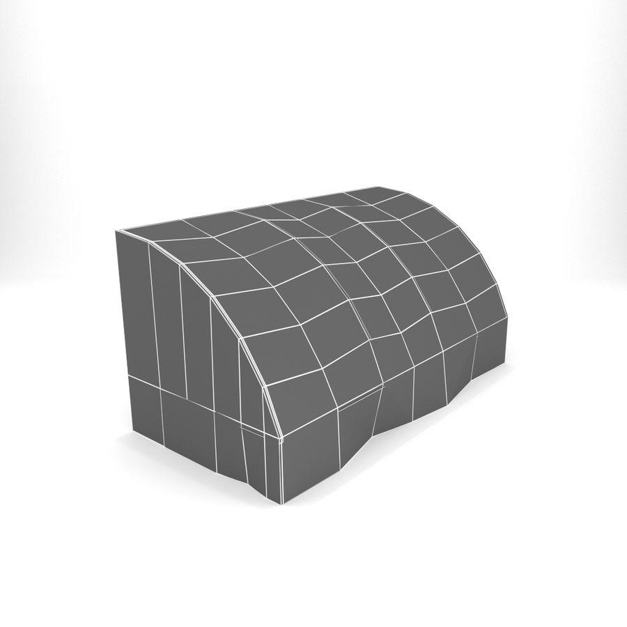 Skjul royalty-free 3d model - Preview no. 8