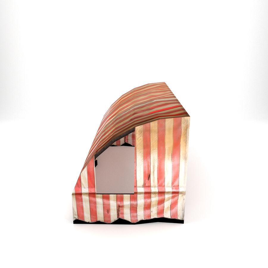 Skjul royalty-free 3d model - Preview no. 3