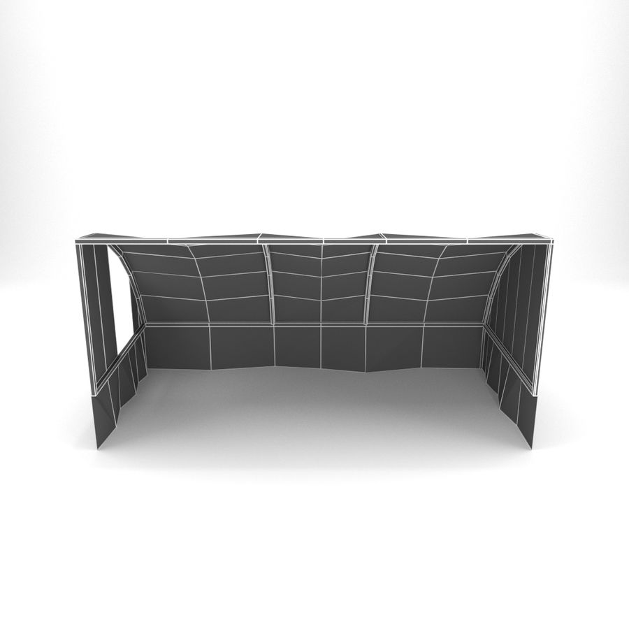 Skjul royalty-free 3d model - Preview no. 6