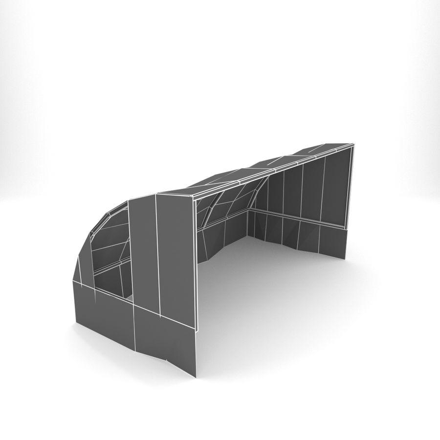 Skjul royalty-free 3d model - Preview no. 7