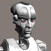 机器人人 3d model