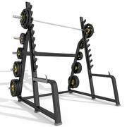 Squat Rack Station Power 3d model