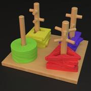 Zabawka dla dzieci 1 3d model