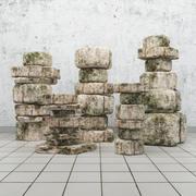 Rock, Stone 3d model
