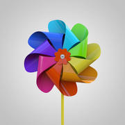 PinWheel 03 3d model