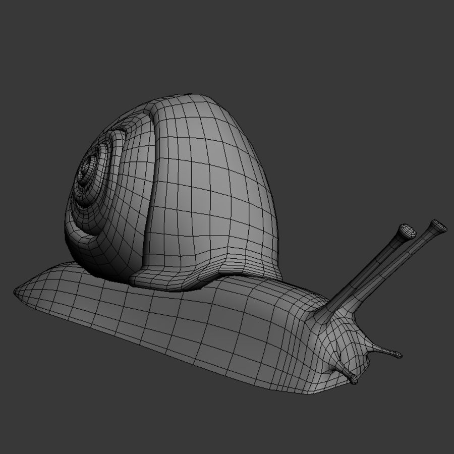 Caracol royalty-free 3d model - Preview no. 6