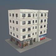 Budynek V01 3d model