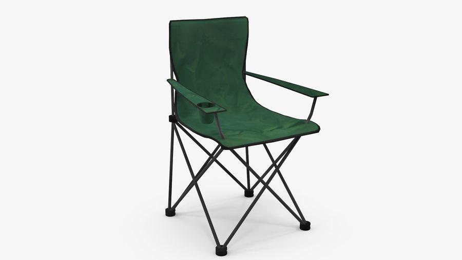 Sedia da campeggio royalty-free 3d model - Preview no. 2