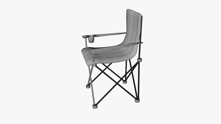 Sedia da campeggio royalty-free 3d model - Preview no. 9