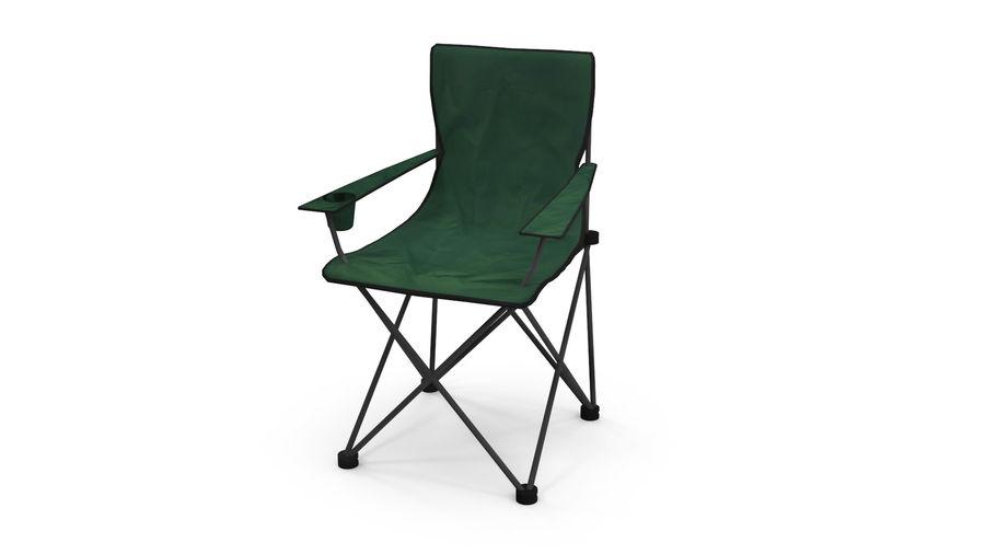 Sedia da campeggio royalty-free 3d model - Preview no. 3