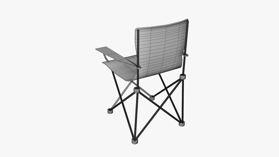 Sedia da campeggio royalty-free 3d model - Preview no. 10
