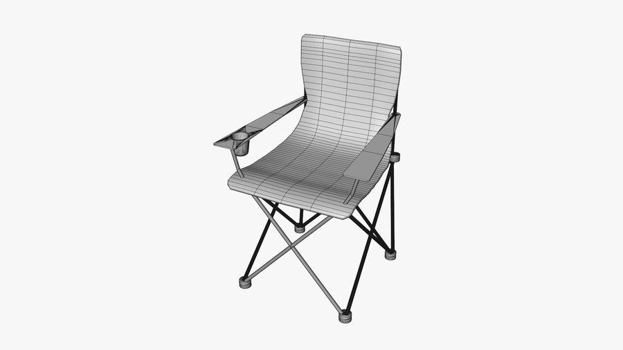 Sedia da campeggio royalty-free 3d model - Preview no. 8