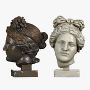 Aphrodite Head 3d model