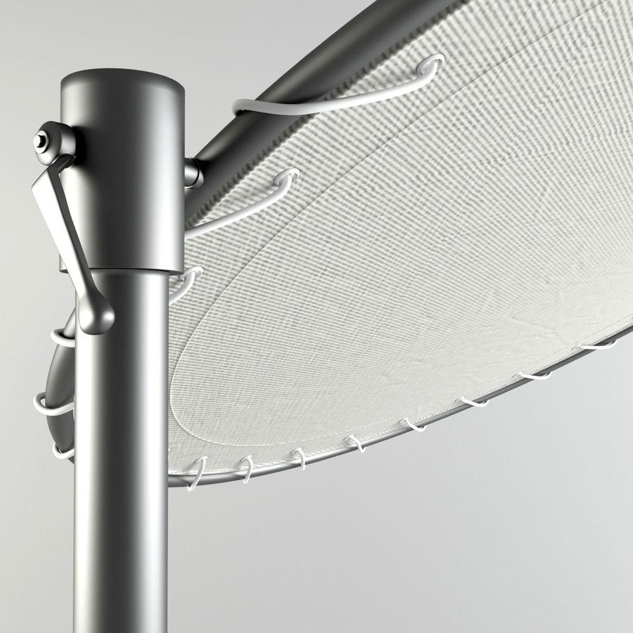 Midcentury Güneşlik royalty-free 3d model - Preview no. 5
