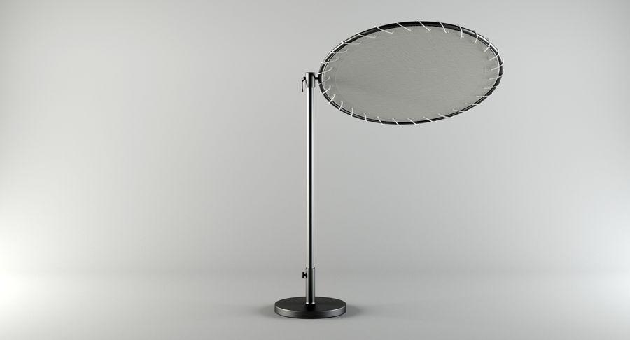 Midcentury Güneşlik royalty-free 3d model - Preview no. 3
