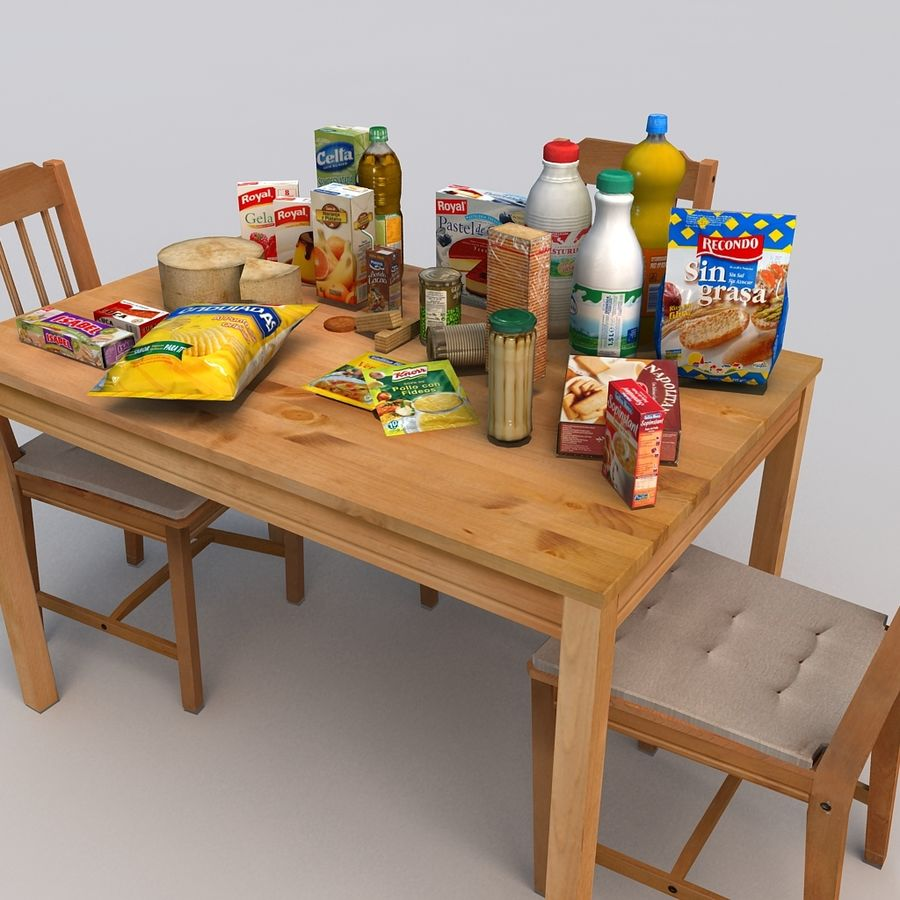 Food royalty-free 3d model - Preview no. 4