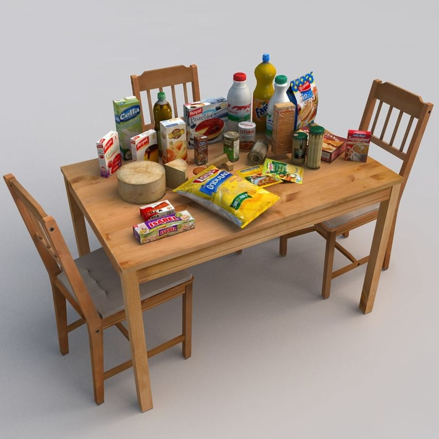 Food royalty-free 3d model - Preview no. 1