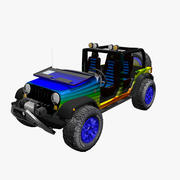 Jeep Wrangler offroad 3d model