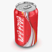Cola Can 3d model