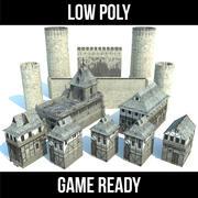 Jogo do castelo 3d model