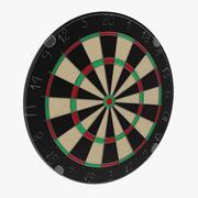 Dart Board 4 3D Model 3d model