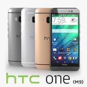 HTC One M9 3d model