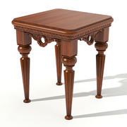 咖啡桌 3d model