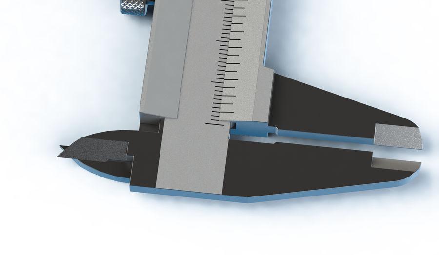 Compasso de calibre de Mitutoya royalty-free 3d model - Preview no. 5