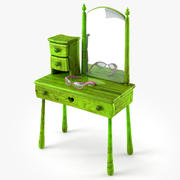 Make Up Table 3d model