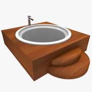 Vasca da bagno 3d model
