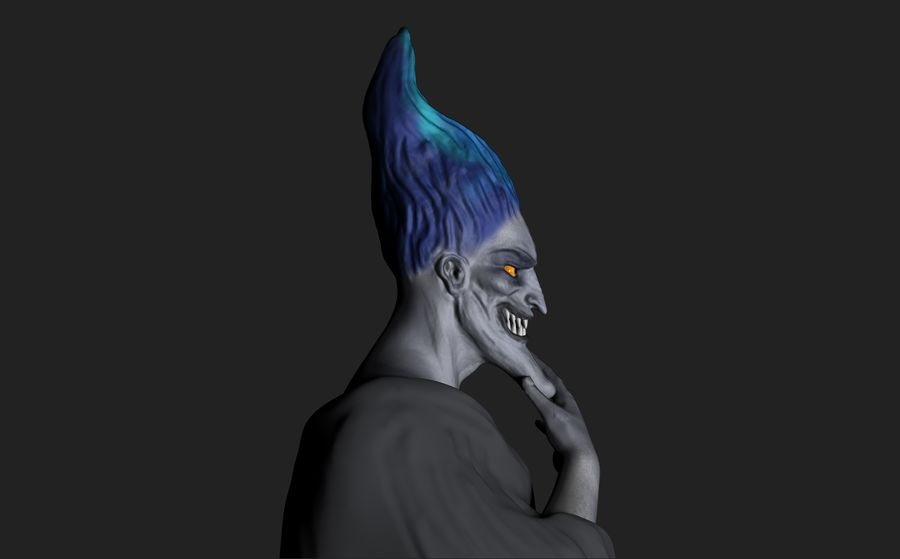 Hades royalty-free 3d model - Preview no. 3