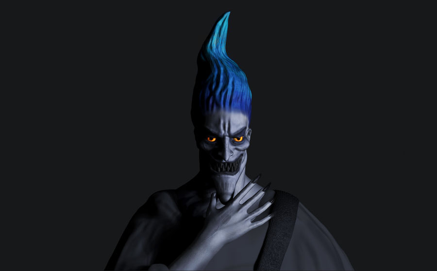 Hades royalty-free 3d model - Preview no. 1