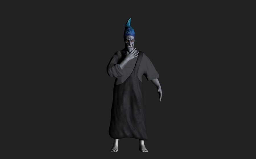 Hades royalty-free 3d model - Preview no. 2