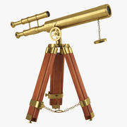 Antique Telescope 3d model