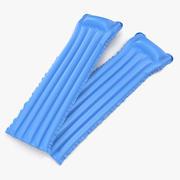 Надувной надувной матрас 3 Blue 3D Модель 3d model