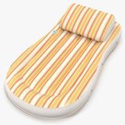 Надувной надувной матрас 4 оранжевая 3D модель 3d model