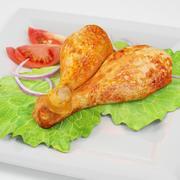 Fried Chicken Legs 3d model