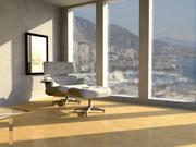 Eames Lounge et Ottoman 3d model