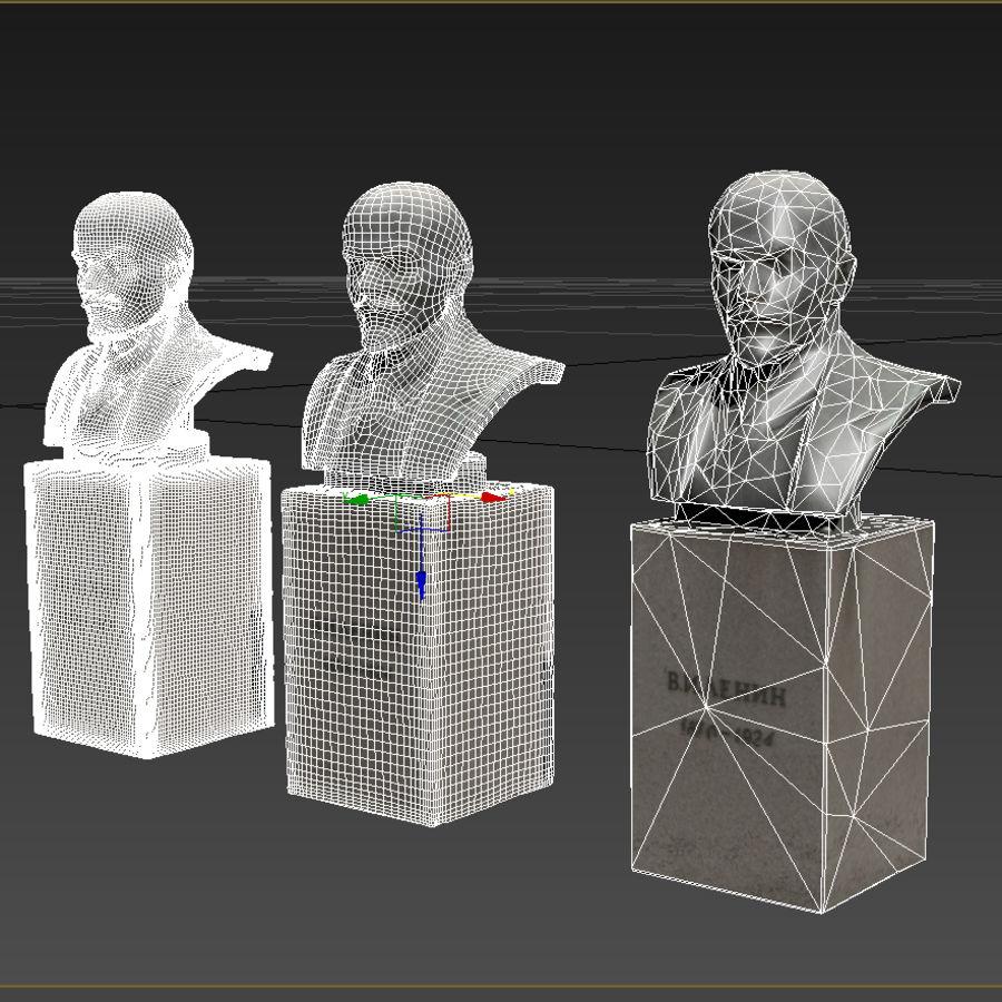 Vladimir Lenin royalty-free 3d model - Preview no. 8
