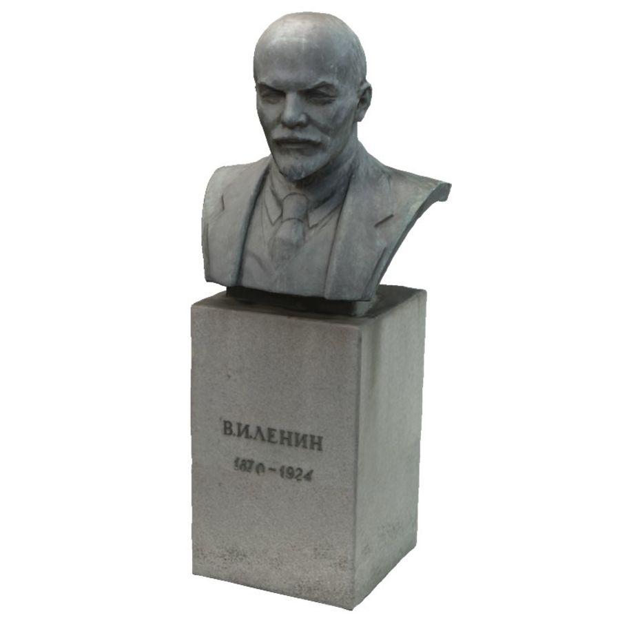 Vladimir Lenin royalty-free 3d model - Preview no. 3